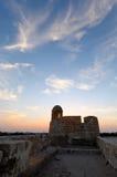 巴林堡垒手表塔大局  库存照片