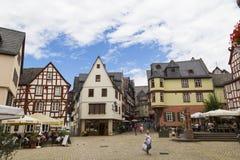 林堡省,德国,老城市的中心 库存图片