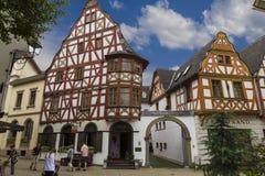林堡省,德国 老城市的中心 免版税库存图片