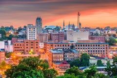 林奇堡,弗吉尼亚,美国街市地平线 免版税库存照片