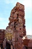 巴林杰陨石坑 库存照片