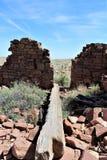 巴林杰陨石坑 库存图片