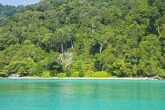 素林海岛国家公园,泰国 免版税库存照片