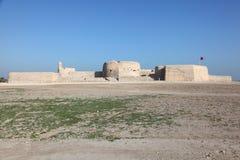 巴林的堡垒在麦纳麦,中东 免版税图库摄影