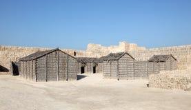 巴林的堡垒在麦纳麦,巴林 图库摄影