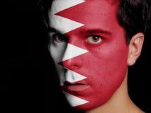 巴林的旗子 免版税图库摄影