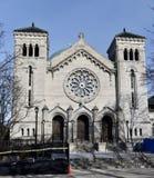 林肯公园教会 免版税库存照片