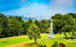 林肯公园-旧金山,加州 库存图片