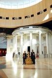 林肯博物馆视图 免版税库存图片