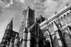 林肯大教堂 免版税库存图片