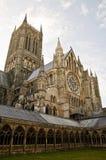 林肯大教堂 免版税图库摄影