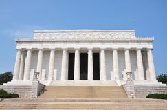 林肯纪念品华盛顿 图库摄影