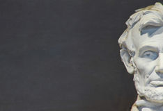 林肯纪念品,华盛顿特区, 免版税库存图片