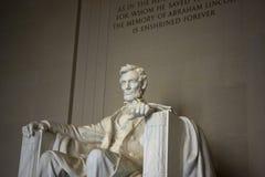 林肯纪念品 免版税库存照片