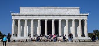 林肯纪念堂在春天 库存图片