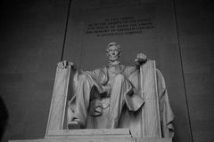 林肯纪念堂 免版税库存照片