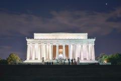 林肯纪念堂 免版税图库摄影