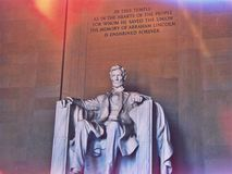 林肯总统 免版税库存图片