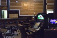林肯` s举世闻名的50,000银色$酒吧,蒙大拿 免版税库存图片