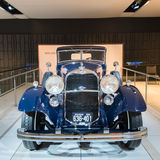 1932年林肯KB狄特里希小轿车 库存图片