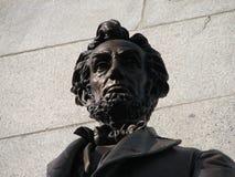 林肯s坟茔 库存图片
