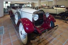 林肯V-8双敞蓬旅游车1928年 库存照片