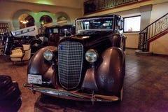 1936年林肯V12 Towncar 库存图片