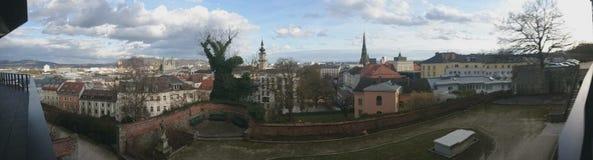 林茨奥地利市 库存照片
