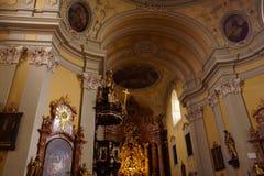 林茨,奥地利教会  免版税库存照片