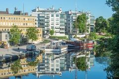 林雪平,瑞典 图库摄影
