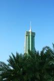 巴林财务港口 库存图片