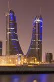巴林财政港口 库存图片