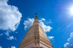 素林Wat Prasat皮带 免版税库存图片
