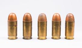38枚口径子弹线  免版税库存照片
