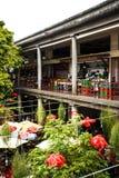 水果、菜和花在市场上,梅尔卡多dos Lavradores或工作者的市场 图库摄影