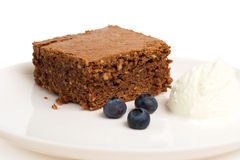 果仁巧克力巧克力奶油冰 库存图片