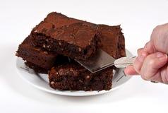 果仁巧克力巧克力 免版税图库摄影