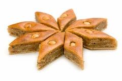 果仁蜜酥饼东部甜点 免版税库存照片