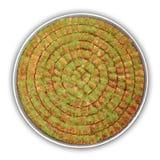果仁蜜酥饼剪报包括路径盘 免版税图库摄影