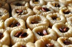 果仁蜜酥饼甜点 免版税库存图片