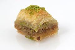 果仁蜜酥饼背景 免版税库存照片