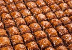 果仁蜜酥饼食物甜点 免版税库存照片