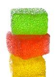 果冻甜点 免版税库存图片