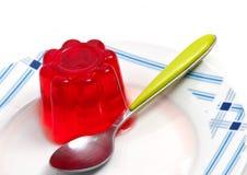 果冻草莓 免版税库存照片