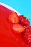 果冻草莓 免版税库存图片