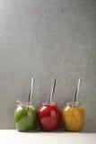 水果和蔬菜夏天鸡尾酒 免版税库存照片