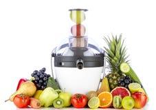水果和蔬菜汁液的 免版税图库摄影