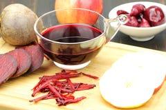 水果和蔬菜汁 免版税图库摄影