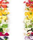水果和蔬菜混合 库存照片