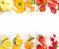 水果和蔬菜混合 库存图片